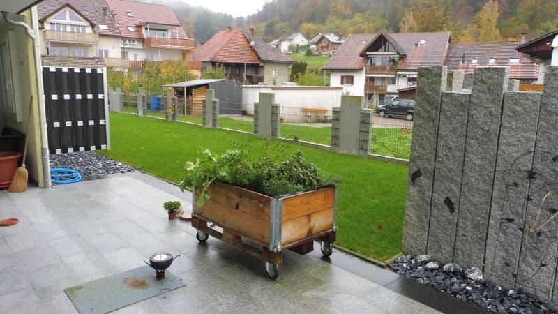 grosser persönlicher Sitzplatz / Garten