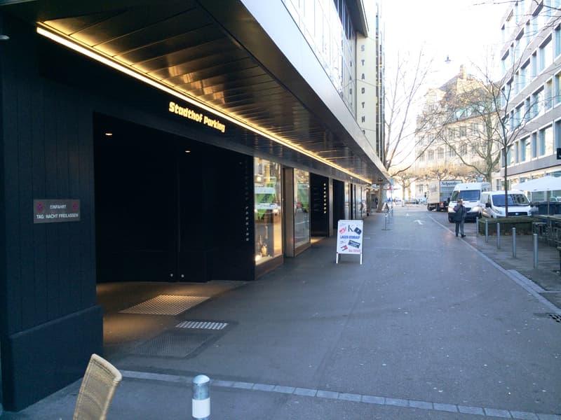 Wenige Meter von Bahnhofplatz und Bahnhofstrasse entfernt (1)
