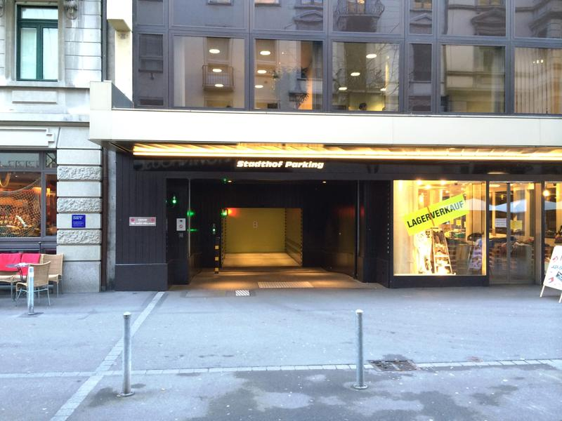Wenige Meter von Bahnhofplatz und Bahnhofstrasse entfernt (2)