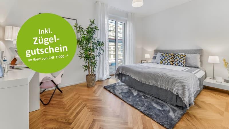 Schlafzimmer Musterwohnung  (Typ 13)