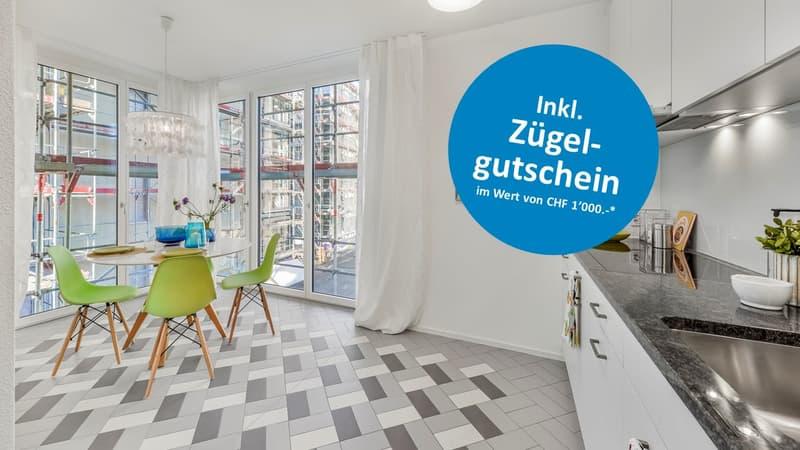 Individuelle Maisonette-Wohnung mit Gartensitzplatz