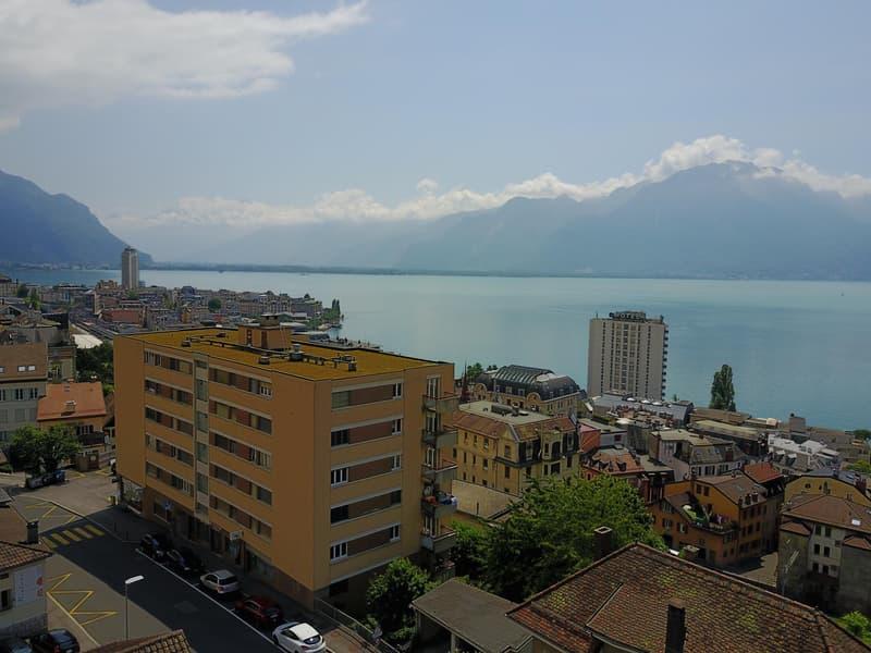 Rénové et proche de la gare de Montreux