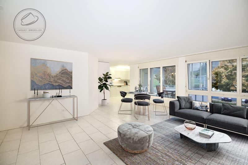 4.5 Zimmer Wohnung in Wohlen zu verkaufen. Eigenheim oder Renditeobjekt.