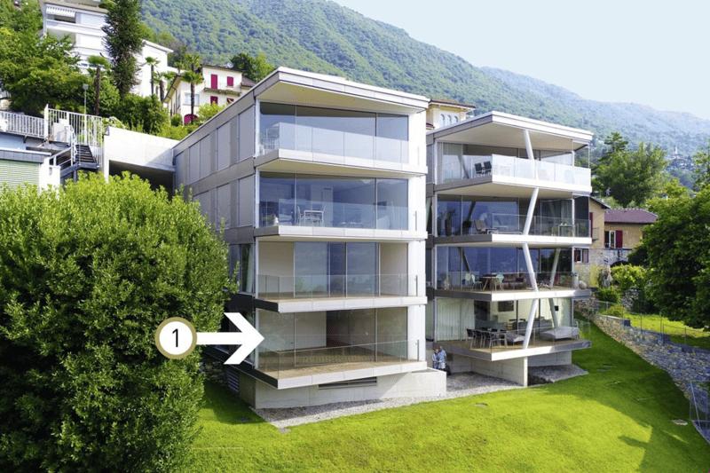 Traumhaft moderne Wohnung als Zweitwohnsitz im sonnigen Tessin.