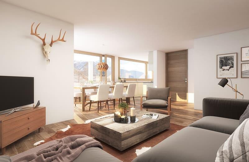 4.5 Zimmer Wohnung Carmenna mit Loggia