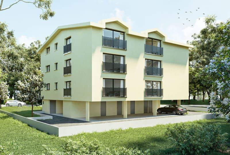 A vendre  appartements de 3,5 pces sur la Commune de Mannens