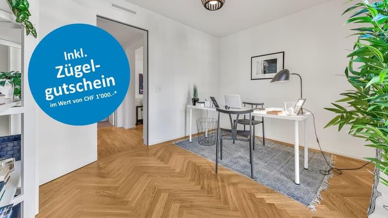 Aussergewöhnliche Maisonette-Wohnung mit grossem Atelier ++ Ideal für Homeoffice