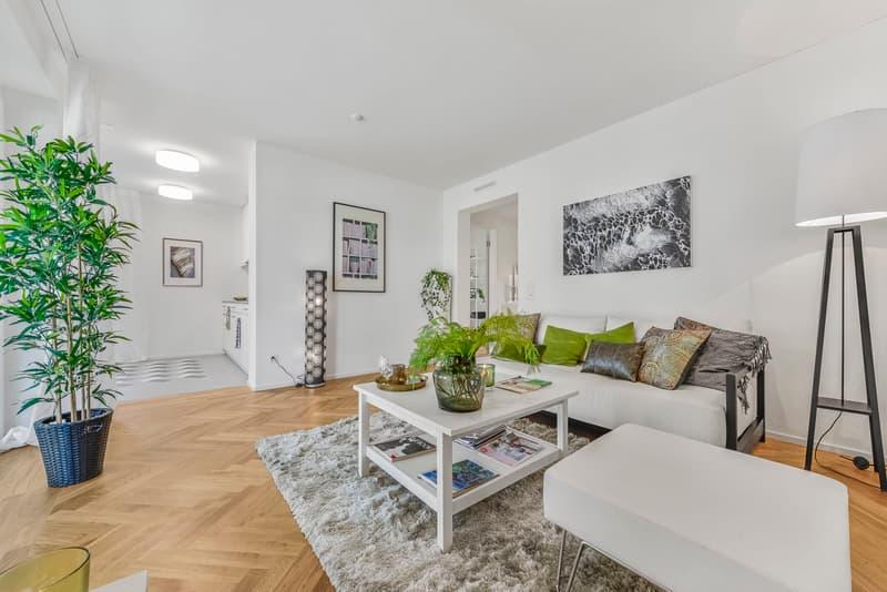 Wohnbereich Musterwohnung (Typ 13)