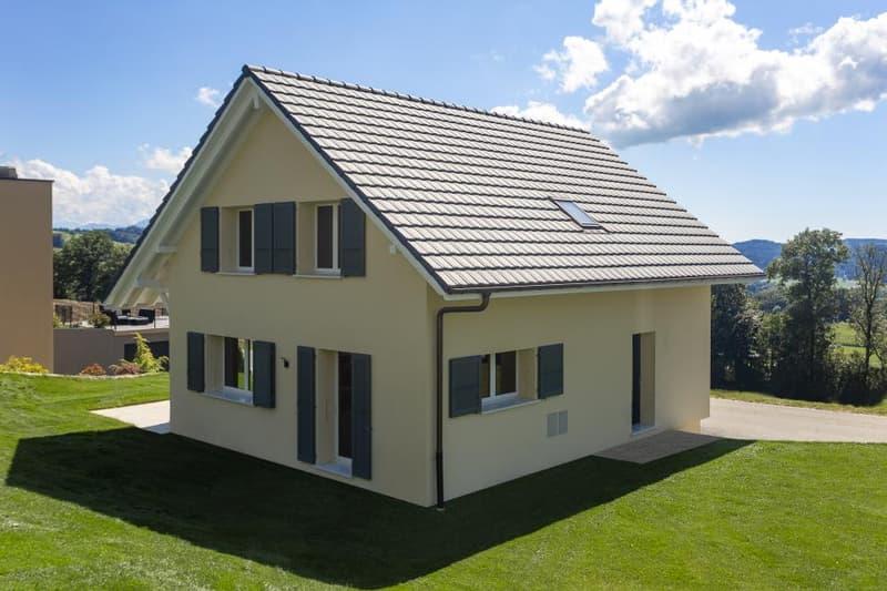Nouveau à Vallorbe : 6 Villas individuelles à construire ! Occasion rare !