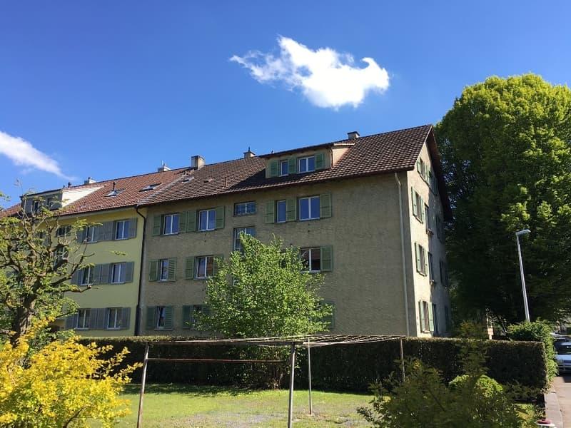 Gemütliche 3.5-Zimmer-Wohnung, Dachgeschoss