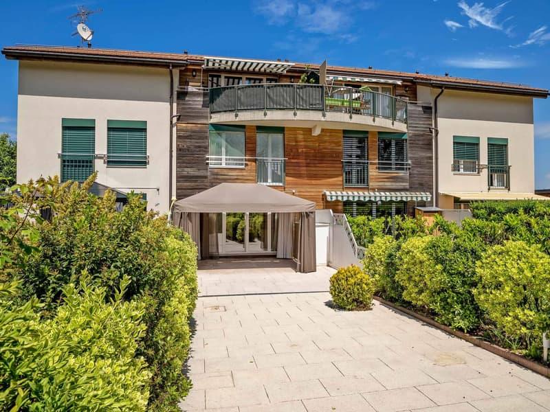 Duplex en rez avec terrasse