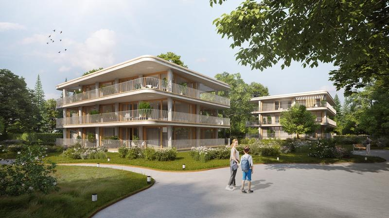 Onex, Projet de 12 magnifiques appartements