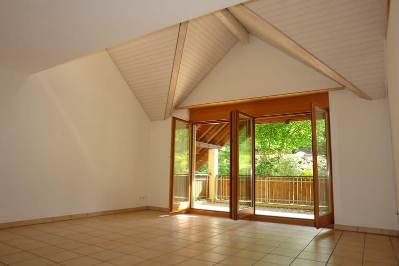 3.5-Zimmer-Dachmaisonette-Wohnung mit Galerie