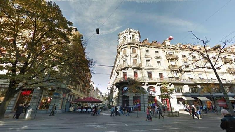 Ausgebaute Büroflächen beim Hauptbahnhof. (1)