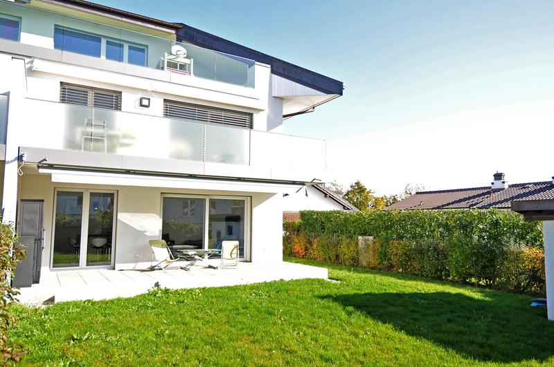 Superbe appartement de 4 pièces avec jardin