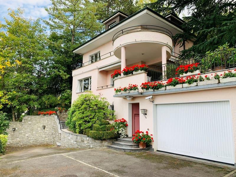 Villa familiale avec vue sur le Lac et le Jura