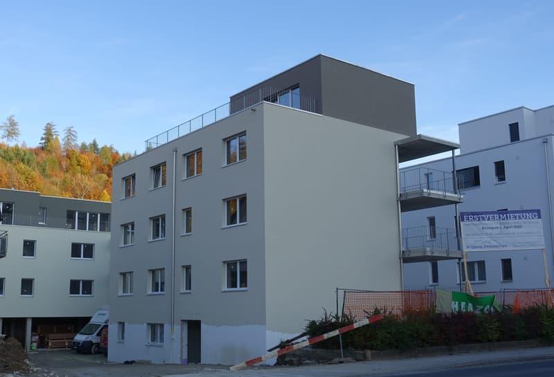Erstvermietung, attraktive und zentral gelegene 3.5 Zimmer-Wohnung