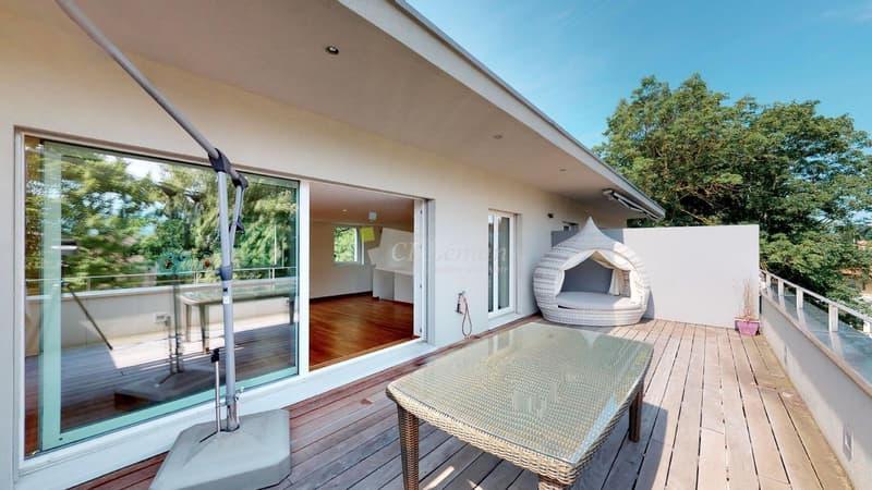 Attique en duplex avec terrasse de 35 m2