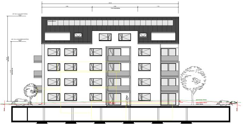 Neubau MFH Bahnhofstrasse 1a, 8862 Schübelbach