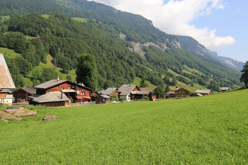 W2 Bauland im wildromantischen Weisstannental