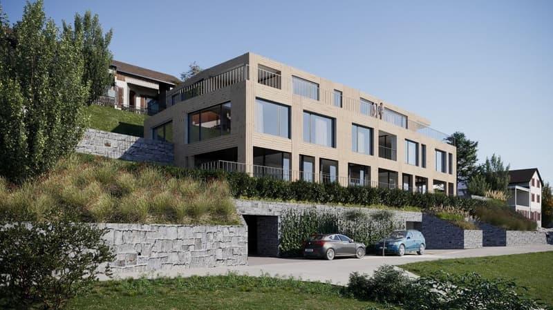 Zu Verkaufen, Attikawohnung, 4500 Solothurn, Ref. Eigentumswohnungen Alpensicht Flumenthal.Attika 5