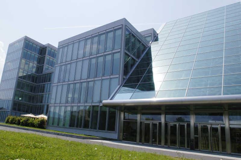 Architecture contemporaine, bureaux de haut standing