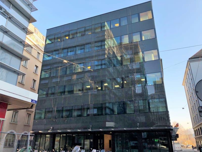 A louer, surfaces de bureaux flexibles à Genève à proximité de la gare Cornavin