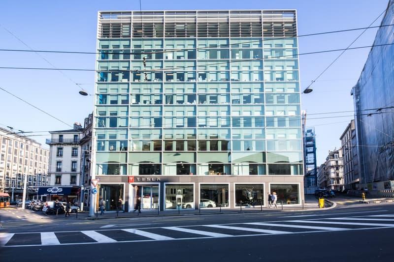 A louer, surface de bureaux de standing avec terrasse CBD de Genève, Cours de Rive