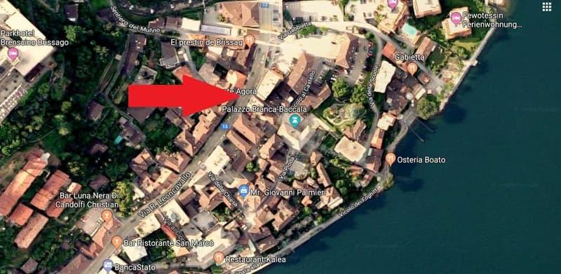 Stabile di reddito nel centro di Brissago (1)