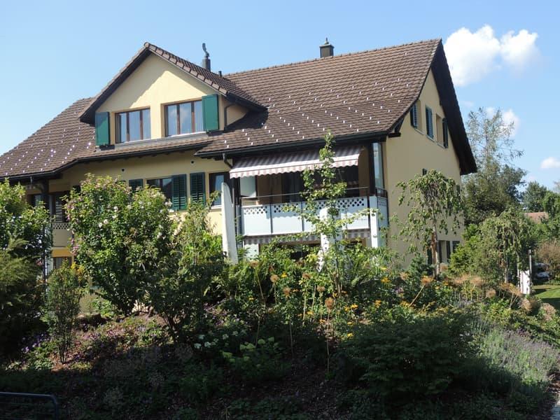 4.5 Zimmer-Wohnung in 5 Familienhaus vor dem Stedtli Grüningen