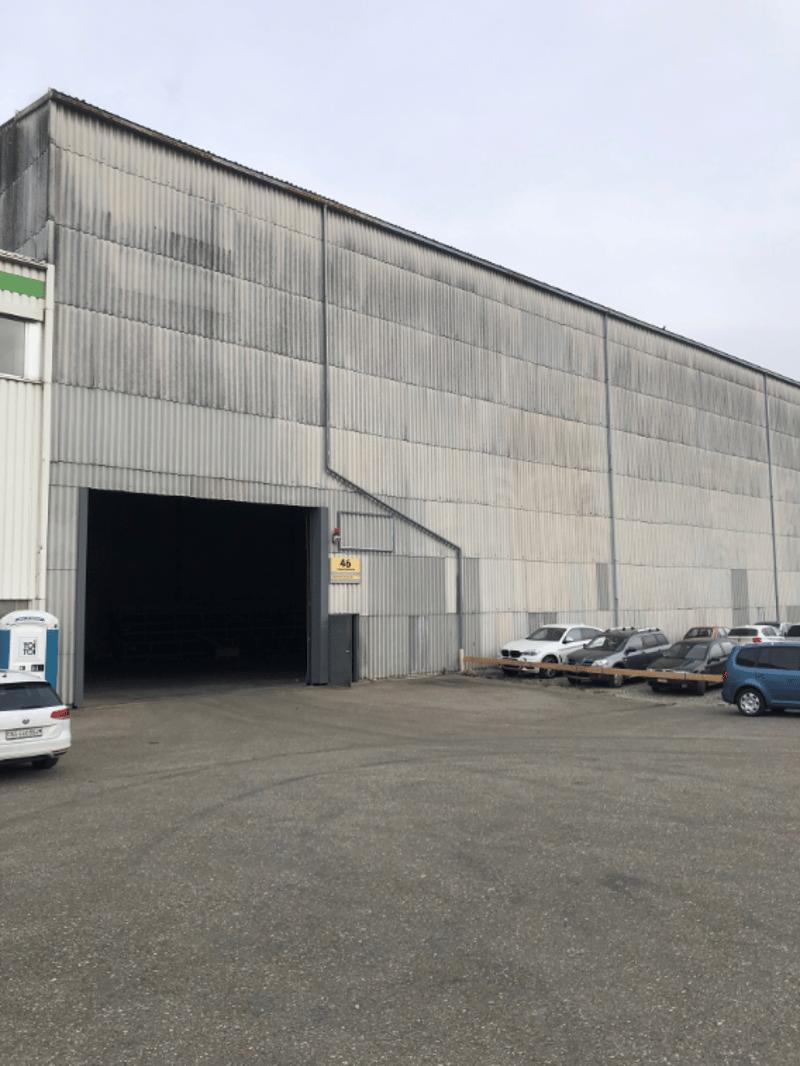 1'830m2 Lagerhalle im Industriepark Kleindöttingen