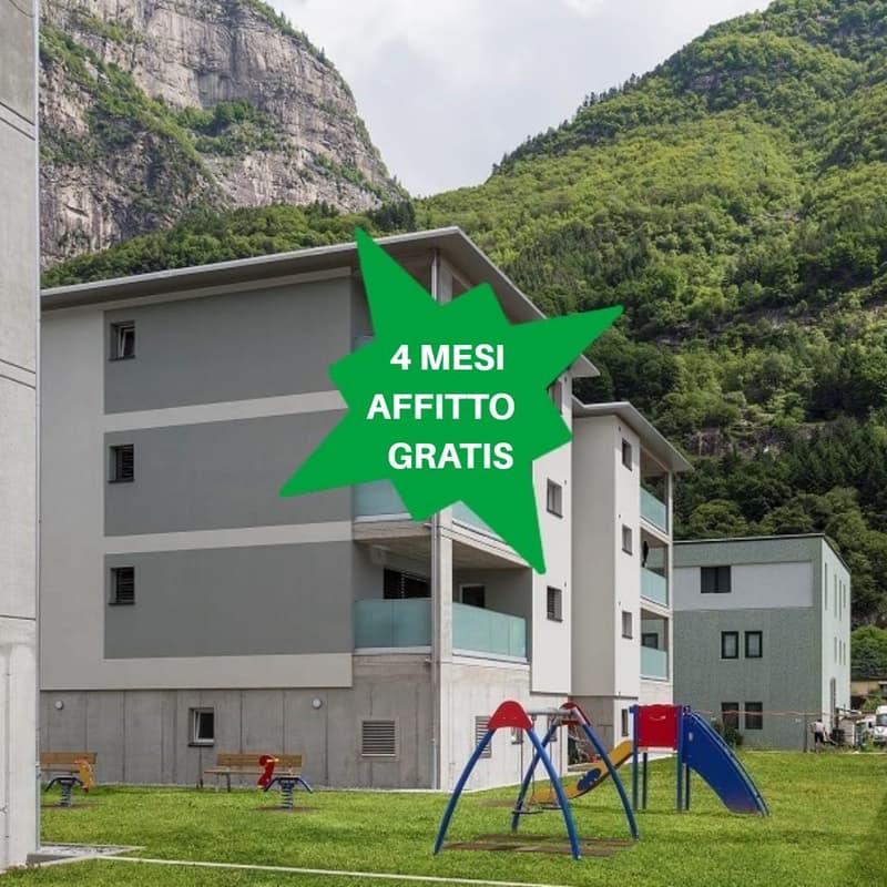 Residenza Living, 2.5 locali al piano terra - Blocco A