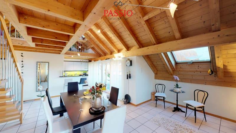 Zauberhafte 4.5-Zimmer-Duplexwohnung mit einer Wohnfläche von 172.04m²