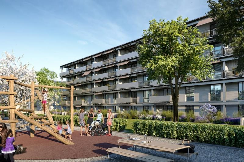 Grosszügige Familienwohnung mit 2 Balkone