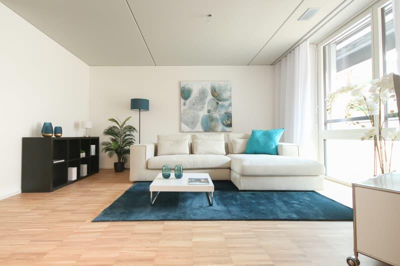 Wohnbereich Musterwohnung