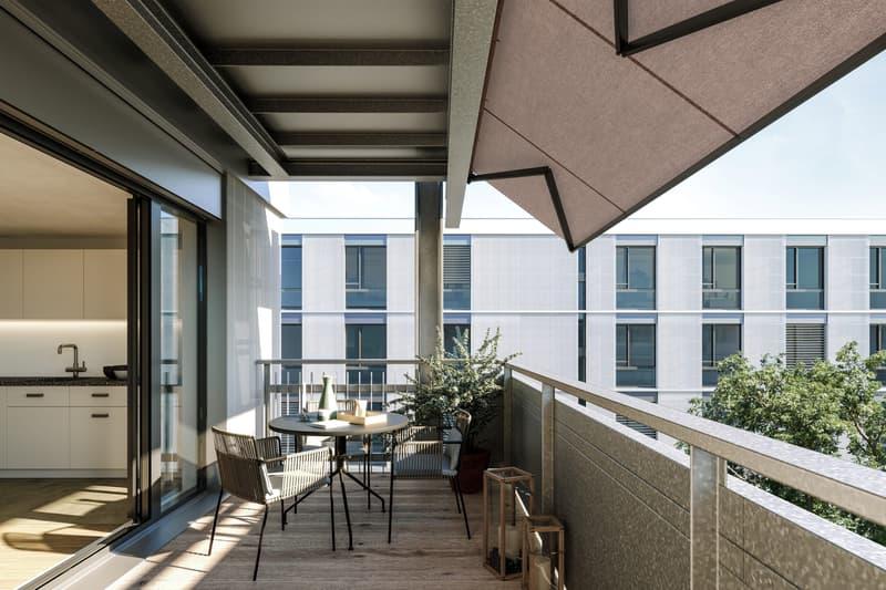 Attraktive Familienwohnung mit sonnigem Balkon
