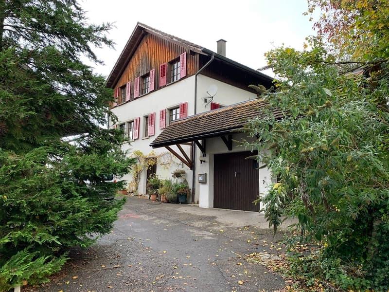 Freistehendes Einfamilienhaus in Freudwil