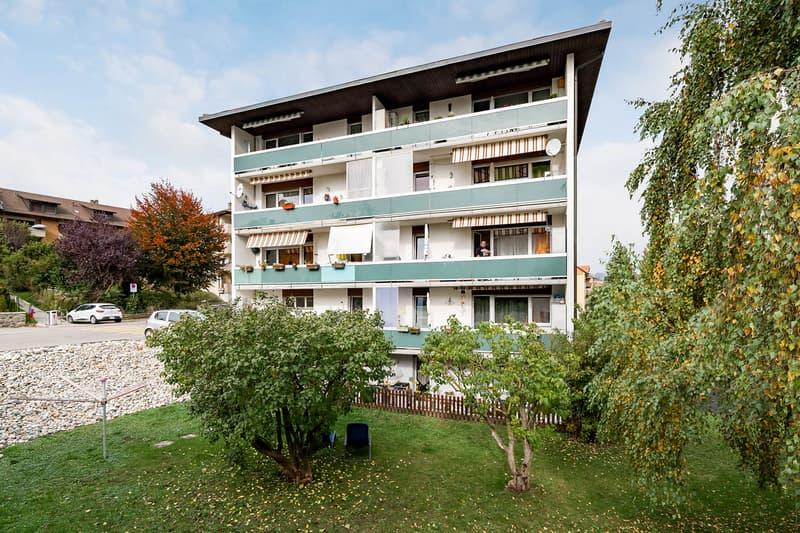 Investir dans un immeuble résidentiel à Moudon (VD)