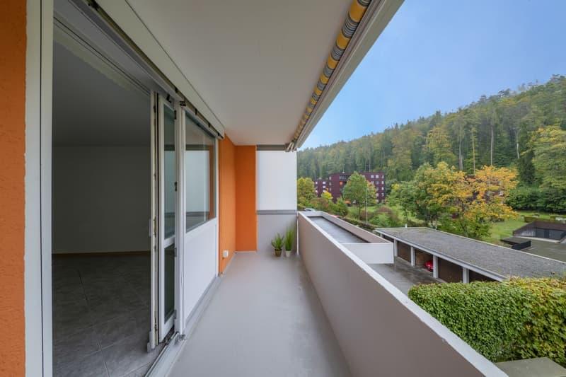 Schönes, ruhiges Wohnen mit Blick ins Grüne ? hier werden Sie sich zuhause fühlen!