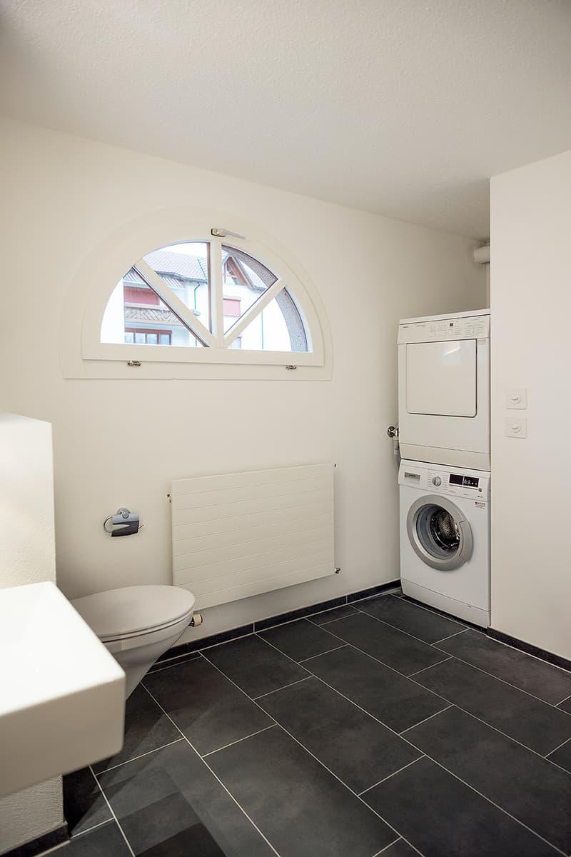 WC mit Waschturm