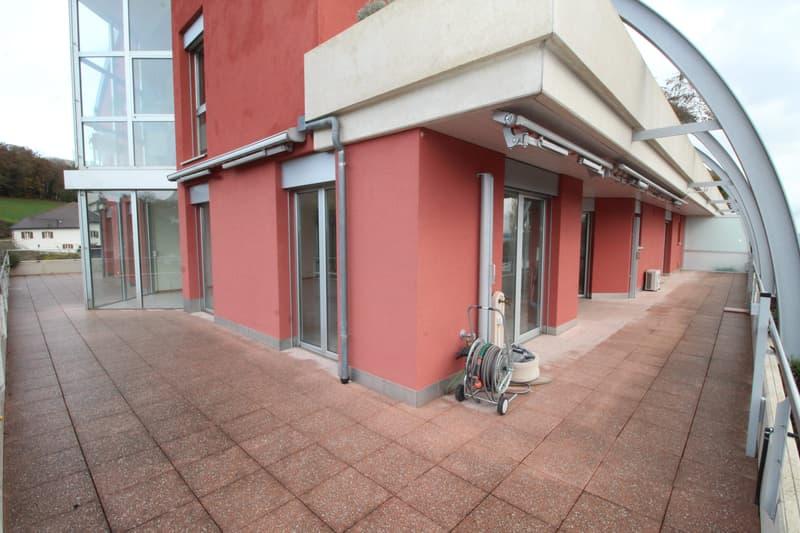 Terrasse sur 3 côtés