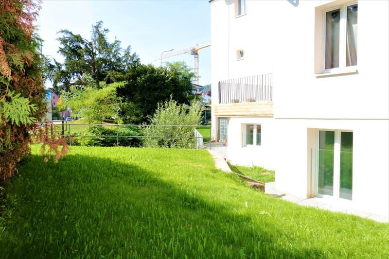3.5 Gartenwohnung mit separatem Eingang