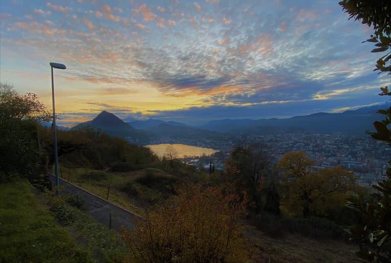 Sole, tranquillità e vista sul golfo di Lugano! Opportunità unica di affittare casa sul Monte Brè
