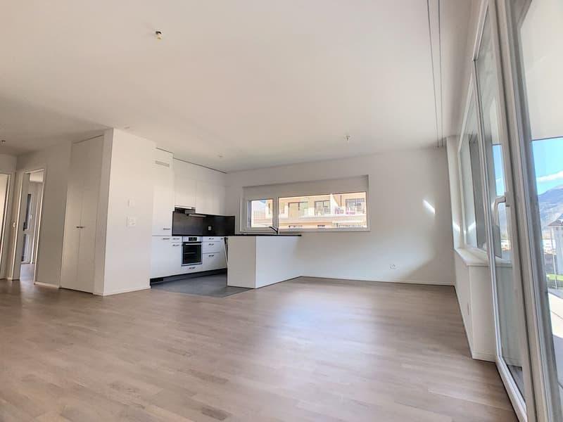Appartement B53 neuf à 2 min à pied de la gare de Martigny, disponible de suite (4)