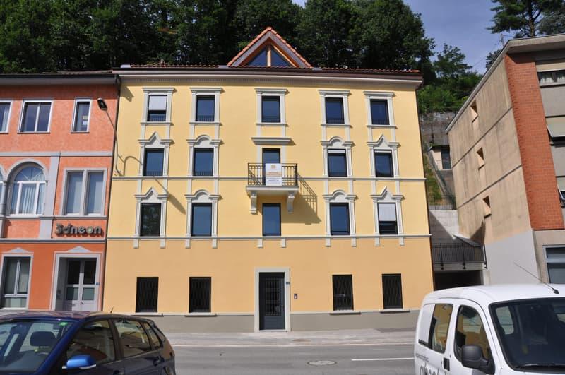 Affittasi Appartamento/Ufficio 3 loc in elegante casa d'epoca (Prima locazione)