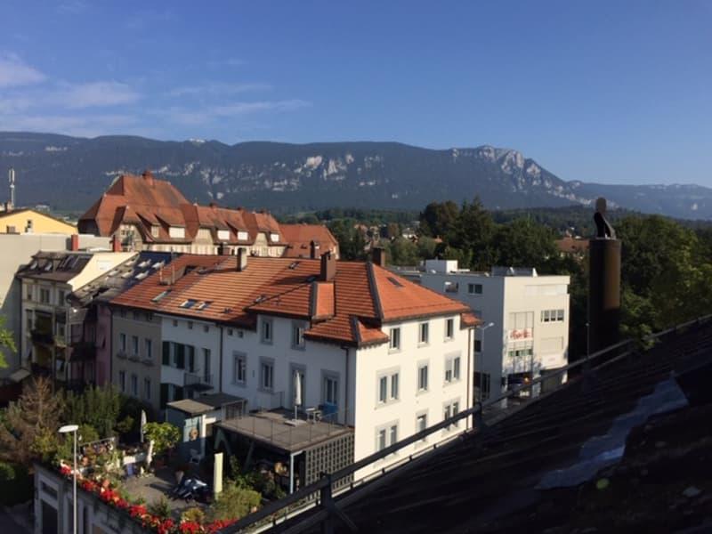Erstbezug neu renovierte Maisonette Whg. mit Balkon - zentrale Stadtlage - (2)