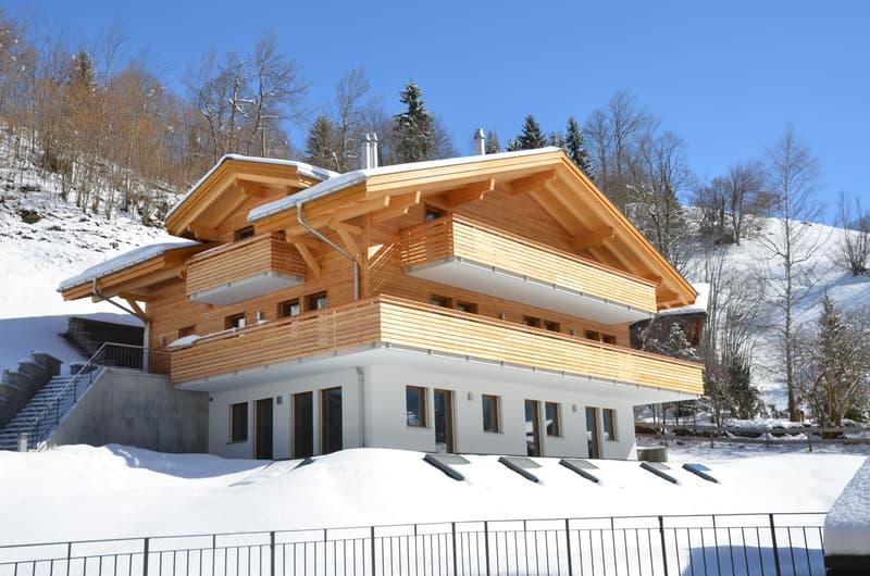 4.5-Zimmerwohnung im Dachgeschoss, Chalet Allegro - 136 m²