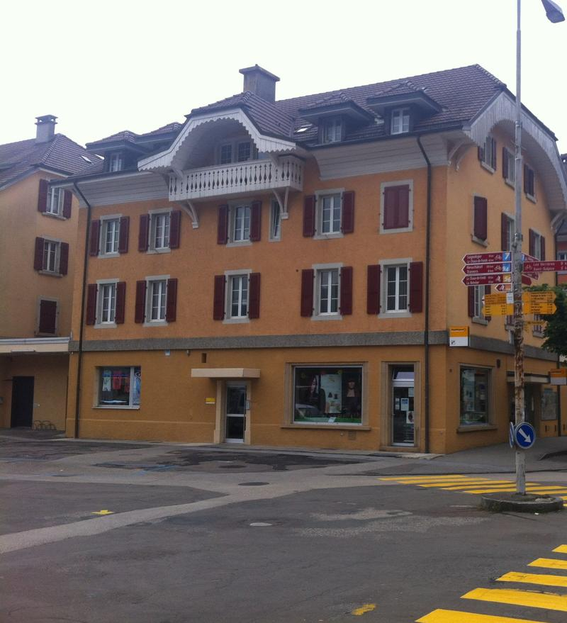 Bureau à louer au 1er étage à Fleurier