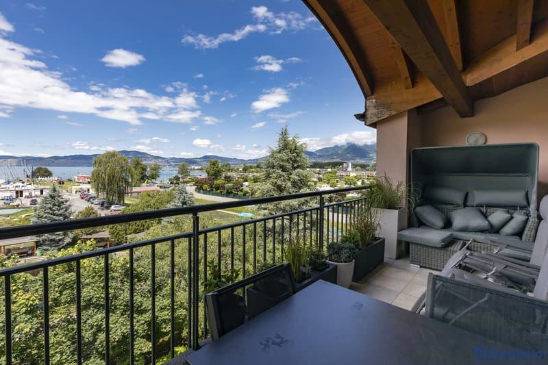 Superbe appartement de 5.5 pièces avec vue sur le lac