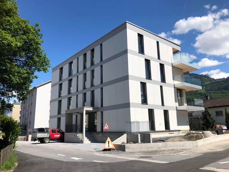 Erstvermietung exklusive, moderne 3 1/2-Zimmer-Wohnung - geeignet für Singelperson